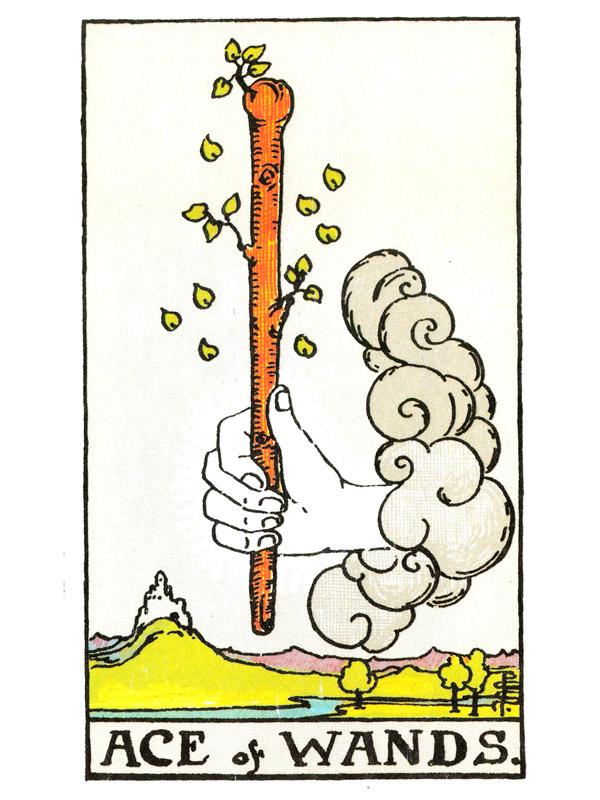 Ten of Wands card from the Universal Waite Tarot Deck
