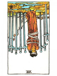 Eight of Swords (R)