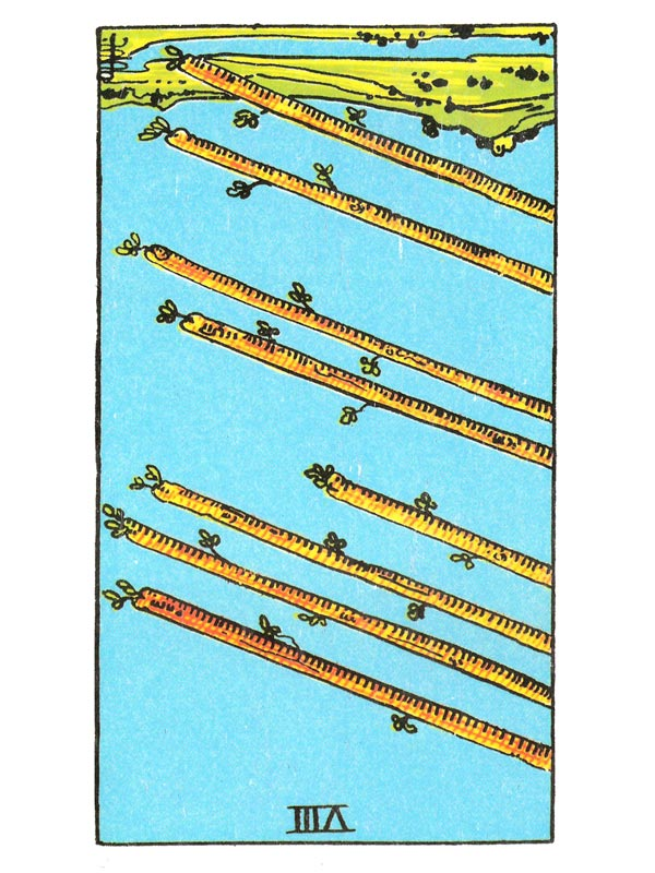 Eight of Wands (R)
