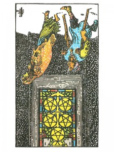Five of Pentacles (R)