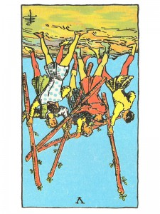 Five of Wands (R)