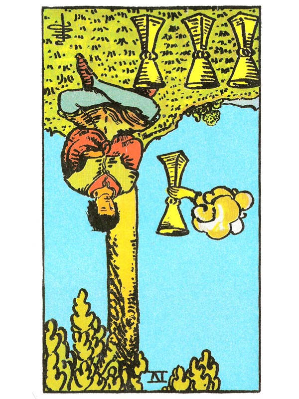 Four of Cups (R)