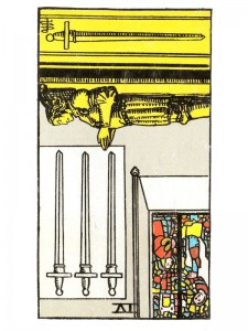Four of Swords (R)