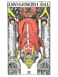 The Hierophant (R)