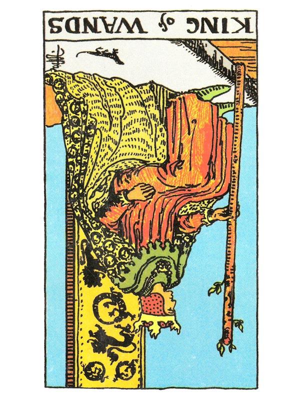 Tarot Card Interpretation & Meaning - King Of Wands
