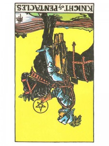 Knight of Pentacles (R)