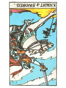 Knight of Swords (R)