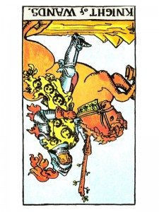 Knight of Wands (R)
