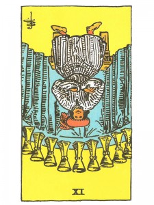 Nine of Cups (R)