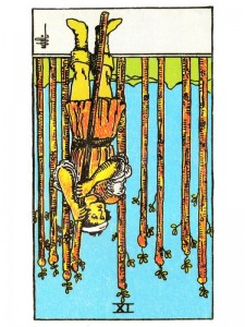 Nine of Wands (R)