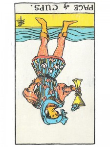 Page of Cups (R)