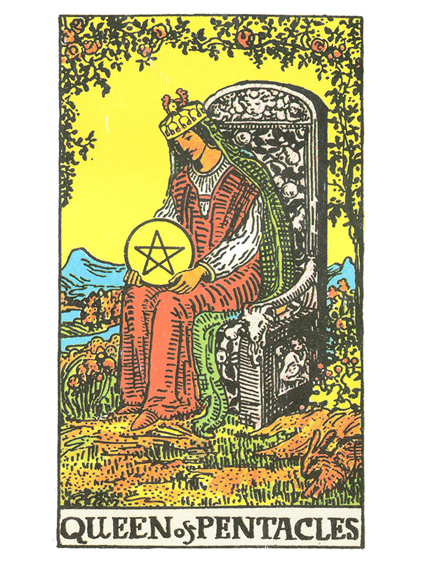 nine of pentacles and page wands relationship