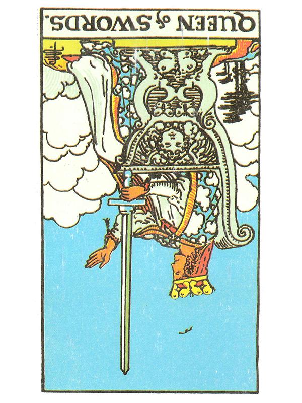 Queen of Swords (R)