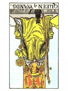Queen of Wands (R)