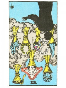 Seven of Cups (R)