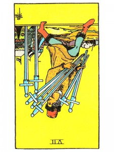 Seven of Swords (R)