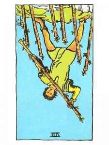 Seven of Wands (R)