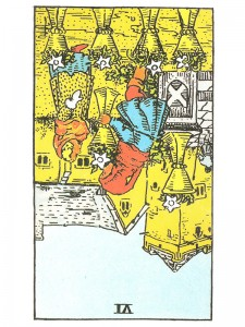 Six of Cups (R)