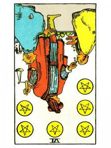 Six of Pentacles (R)