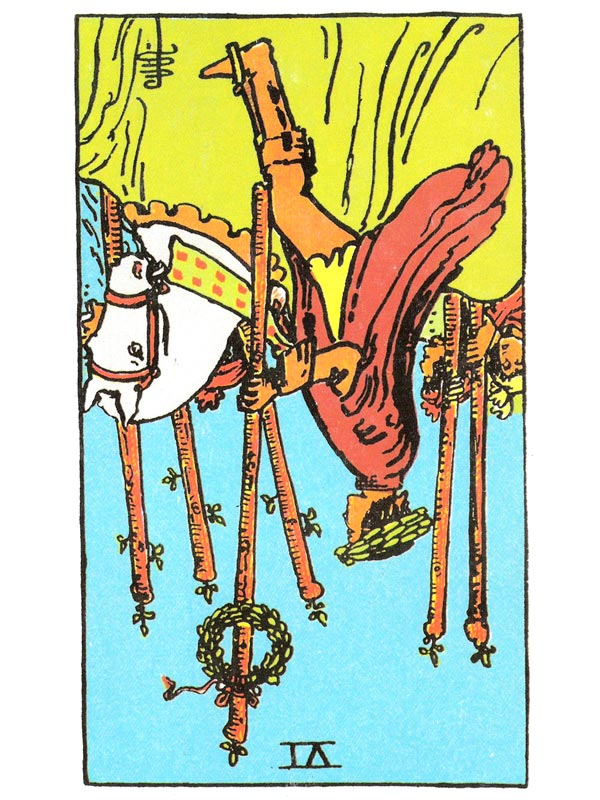 Six of Wands (R)