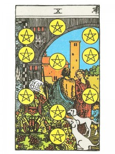 Ten of Pentacles - Crystal Clear Reflections
