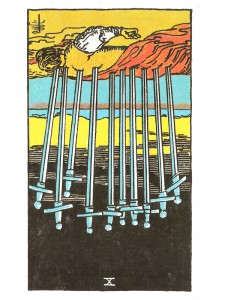 Ten of Swords (R)