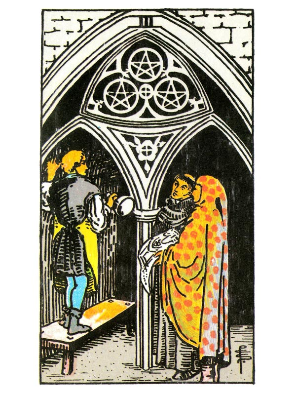 empress and queen of pentacles relationship